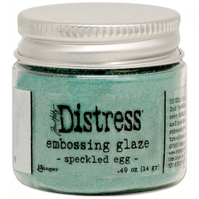 Polvos de Embossing Distress Glaze Speckled Egg