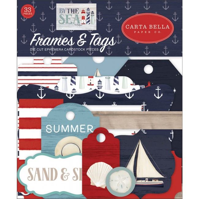 Die Cuts By The Sea Frames & Tags