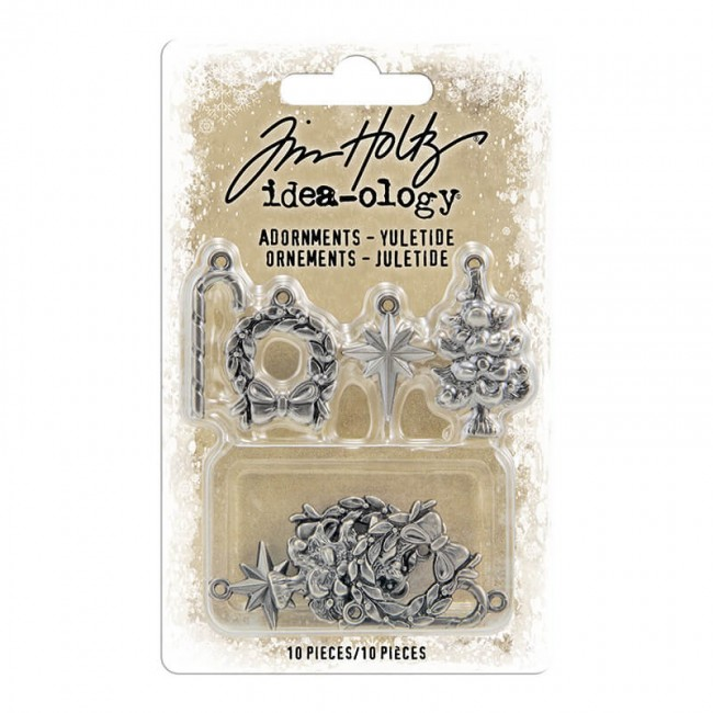 Metálicos Idea-ology Antique Nickel Yuletide Tim Holtz