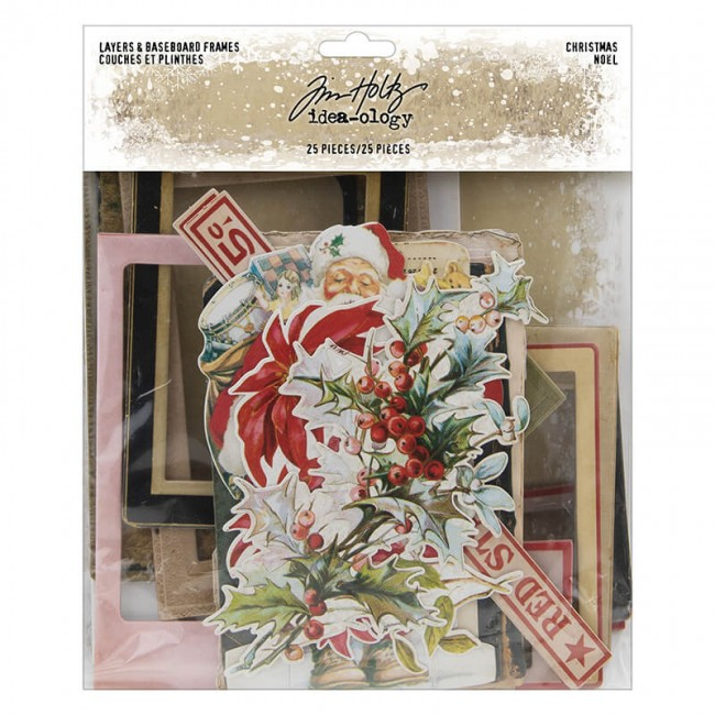 Die Cuts Idea-ology Christmas Layers & Baseboard Frames Tim Holtz