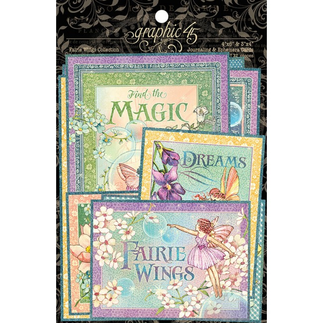 Set de tarjetas Project Life Fairie Wings