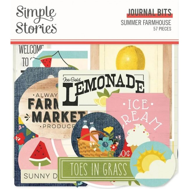 Die Cuts Summer Farmhouse Journal