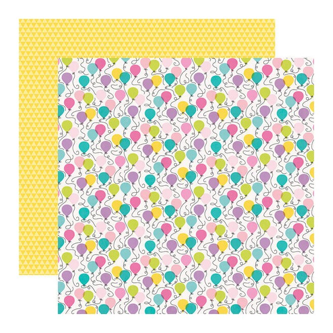 Papel Estampado Doble Cara 12x12 Magical Birthday It's Your Day
