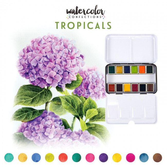 Acuarelas Confections Tropicals