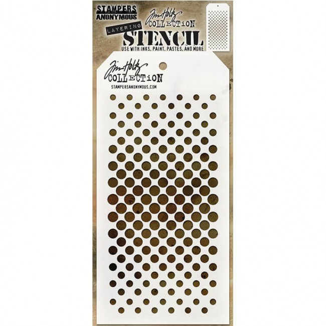 Stencil Gradient Dot Tim Holtz