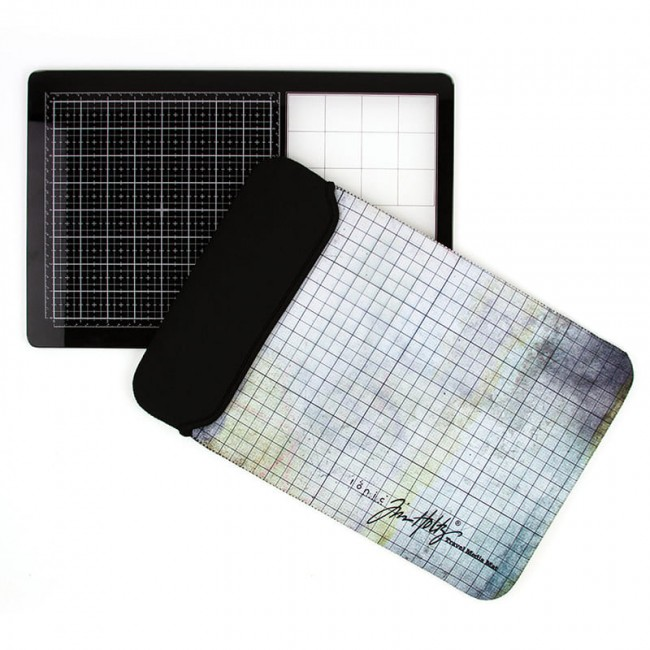Base de corte Travel Glass Media Mat