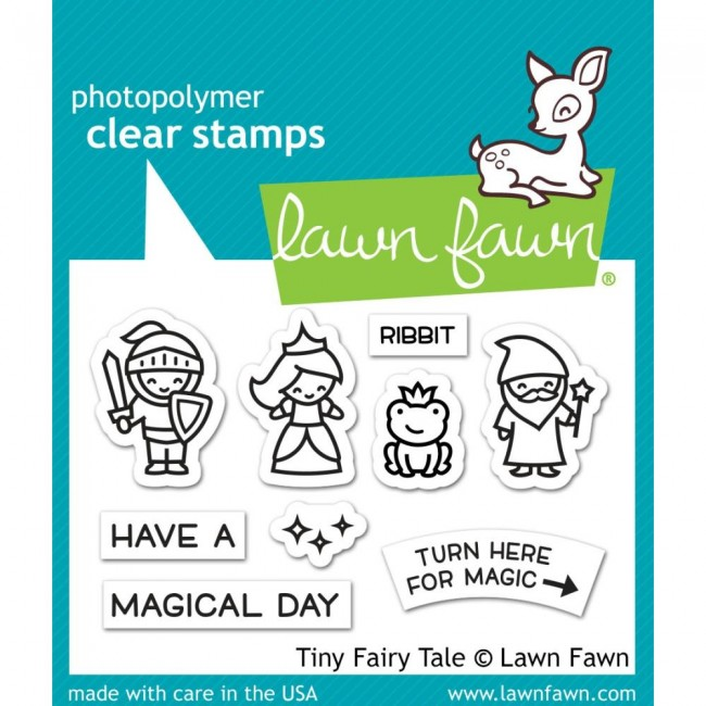 Sello Acrílico 2x3 Lawn Fawn Tiny Fairy Tale