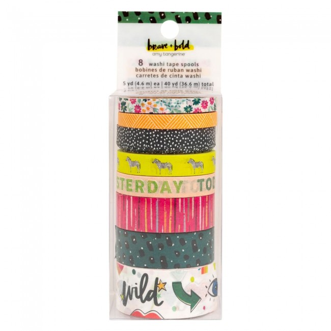 Set de Washi Tape Brave + Bold Amy Tangerine