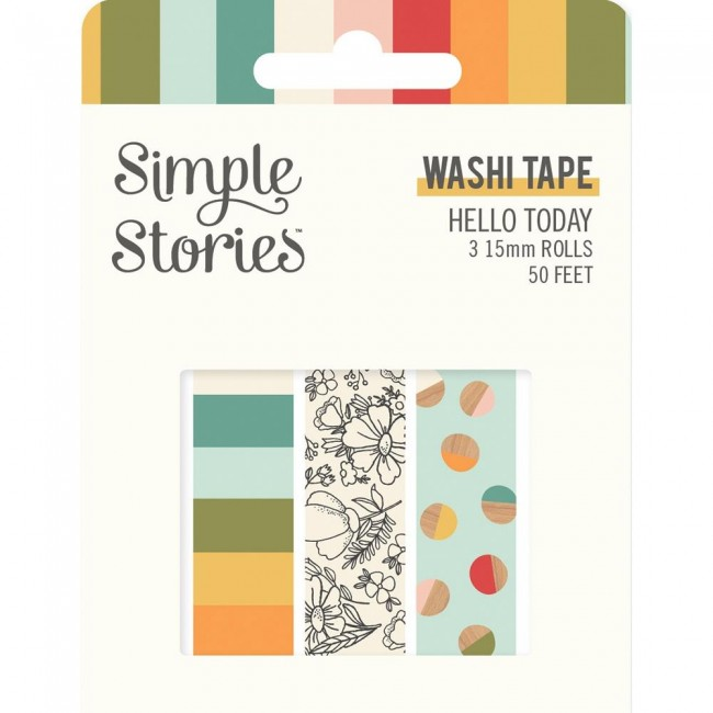 Set de Washi Tape Hello Today