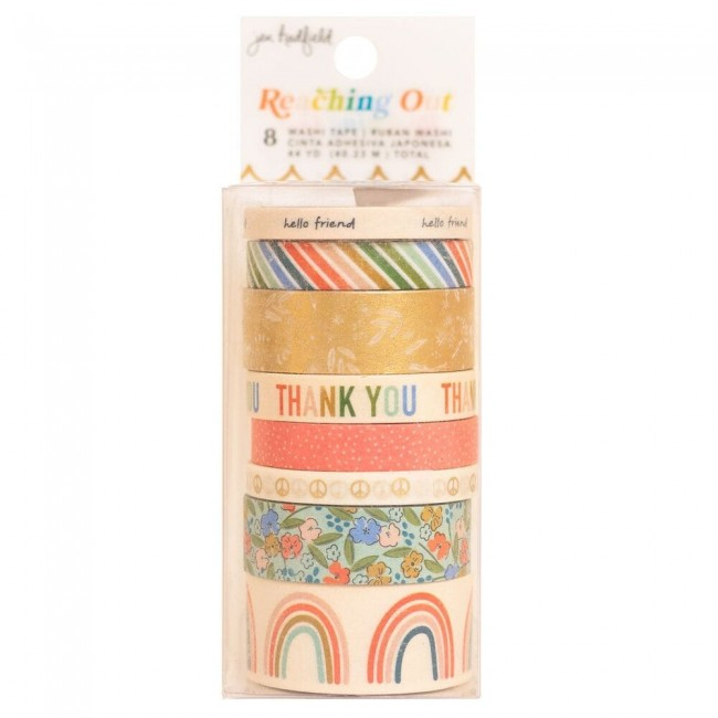 Set de Washi Tape Reaching Out Jen Hadfield Patterned