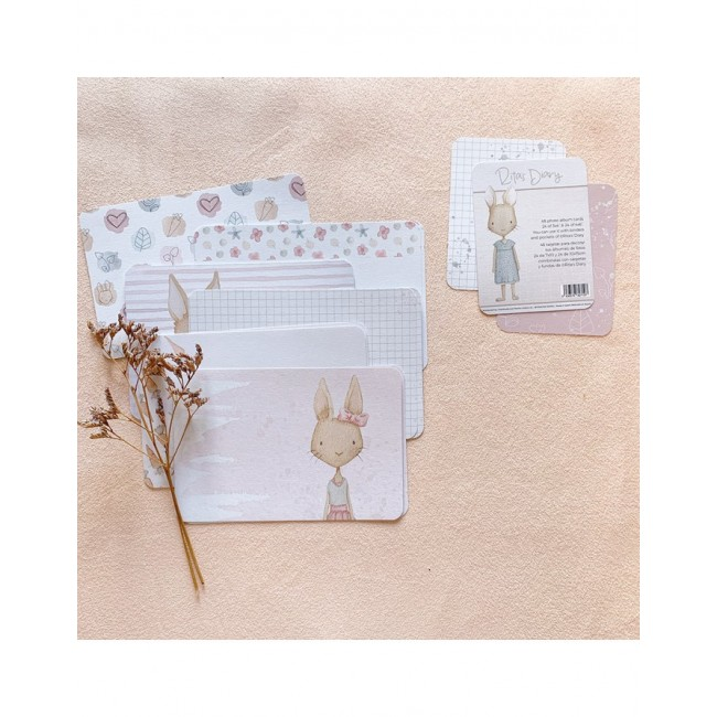 Set de tarjetas Project Life Carrotcake