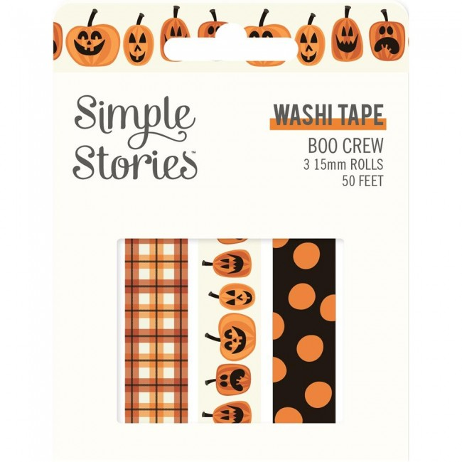 Set de Washi Tape Boo Crew