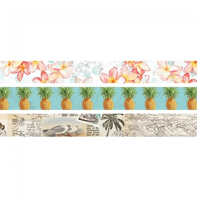 Set de Washi Tape Simple Vintage Coastal