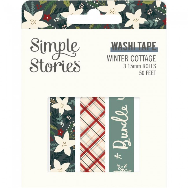 Set de Washi Tape Winter Cottage