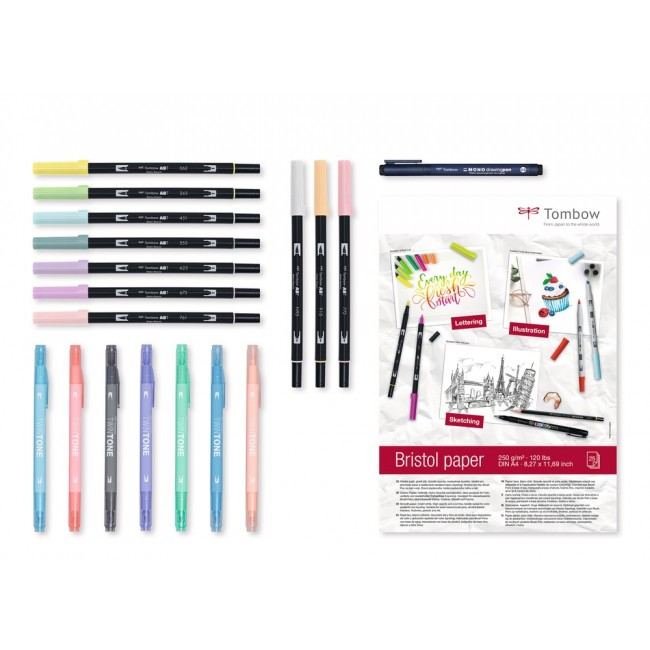 Set Rotuladores Tombow Have Fun @ Home Pastels