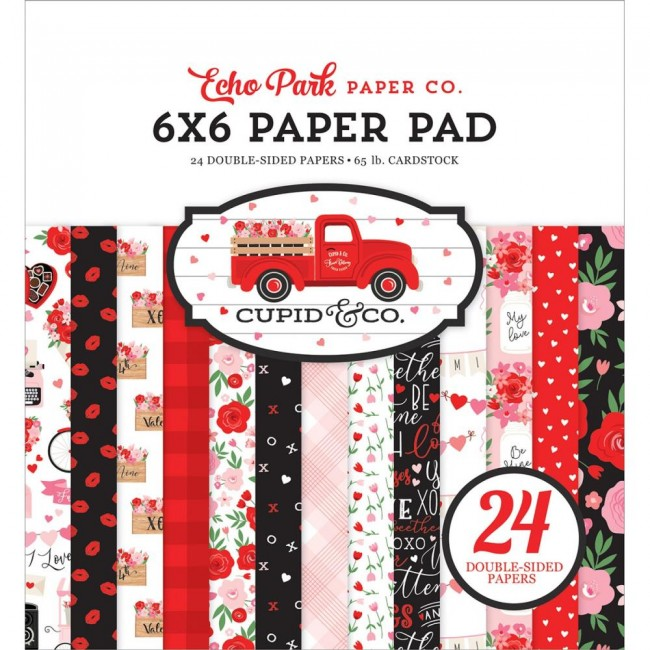 Stack Papeles Estampados 6x6 Cupid and Co
