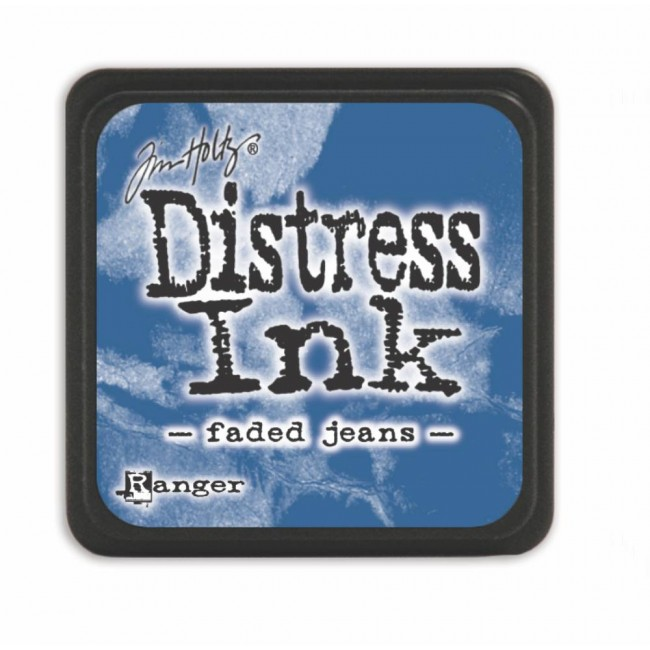 Tinta Mini Distress Ink Faded Jeans
