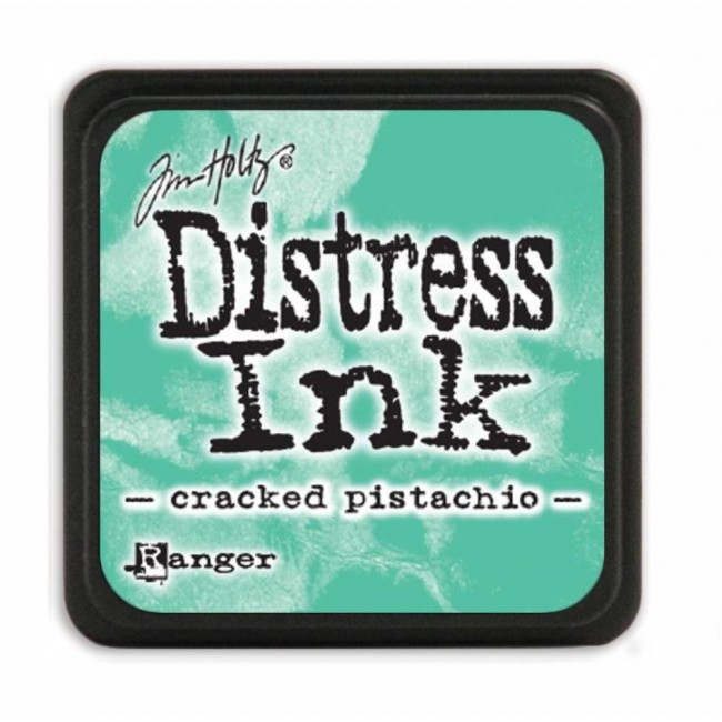 Tinta Mini Distress Ink Cracked Pistachio