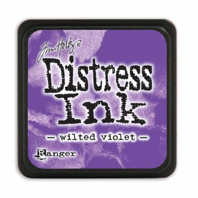 Tinta Mini Distress Ink Wilted Violet