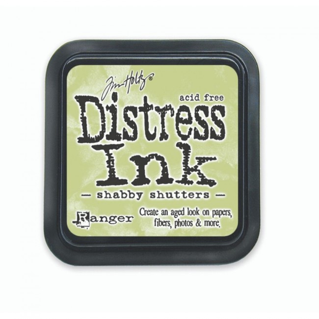 Tinta Distress Ink Shabby Shutters