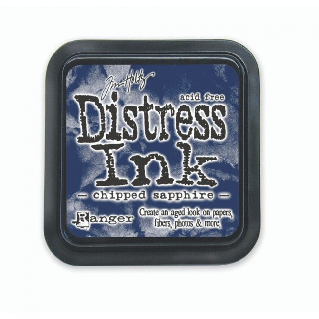 Tinta Distress Ink Chipped Sapphire