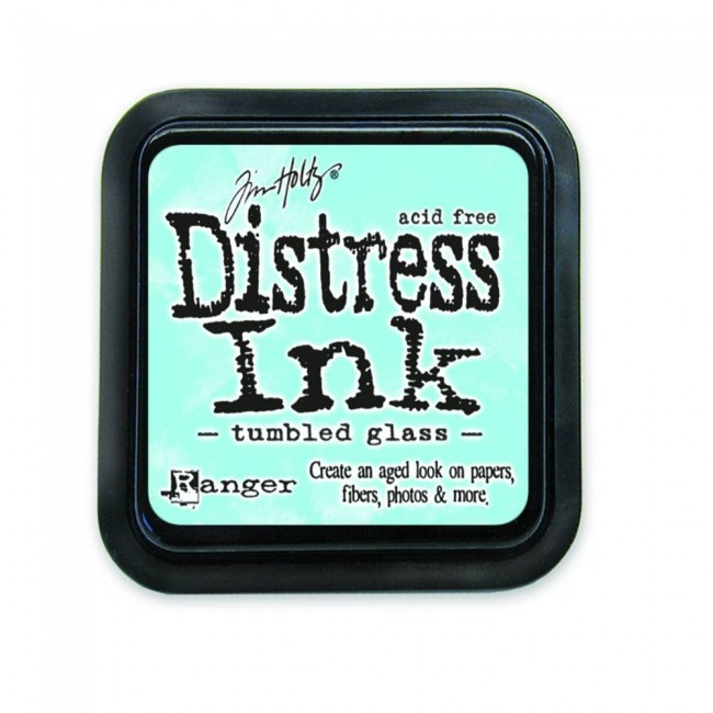 Tinta Distress Ink Tumbled Glass