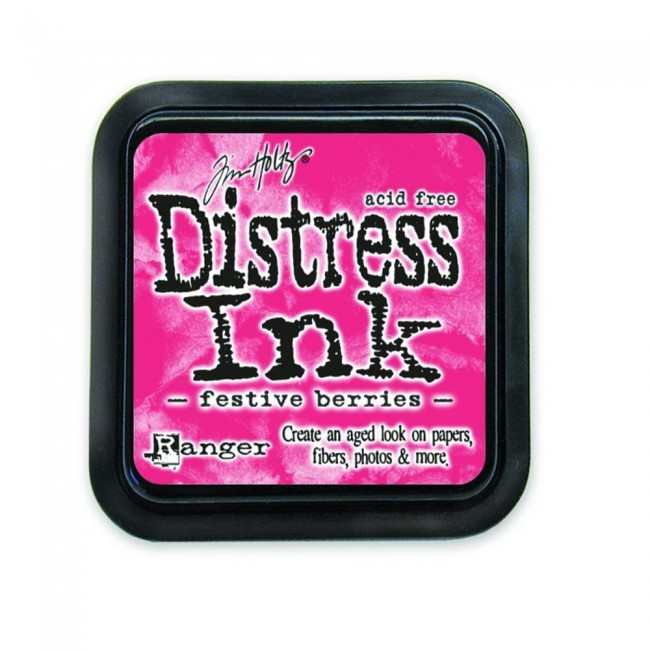 Tinta Distress Ink Festive Berries