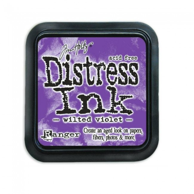 Tinta Distress Ink Wilted Violet