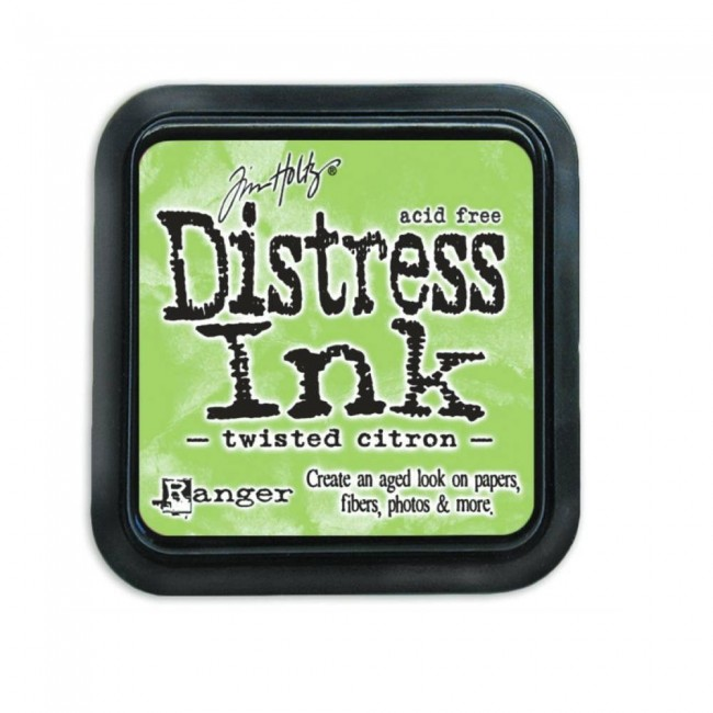 Tinta Distress Ink Twisted Citron