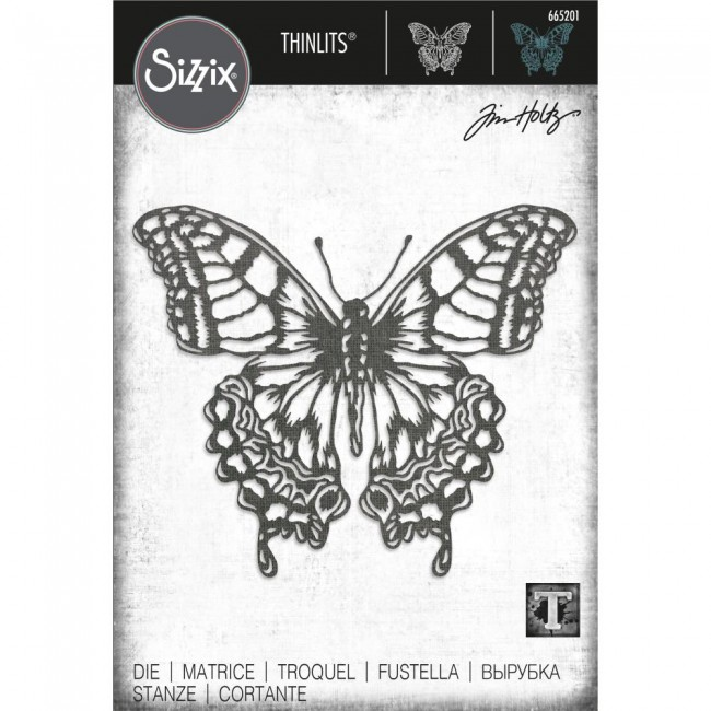 Troquel Thinlits Perspective Butterfly by Tim Holtz