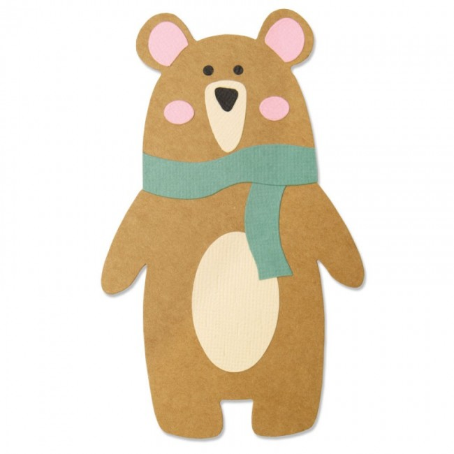 Troquel Bigz Scandi Bear by Laura Kate