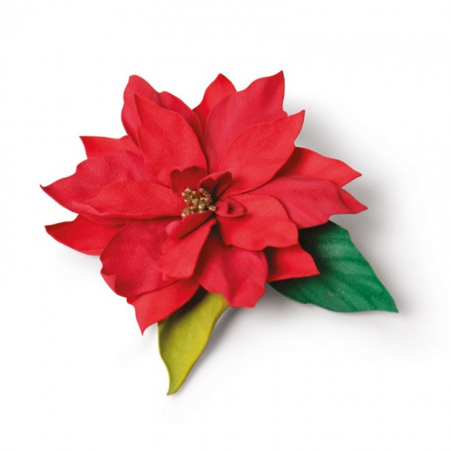 Troquel Thinlits Elegant Poinsettia by Jennifer Ogborn