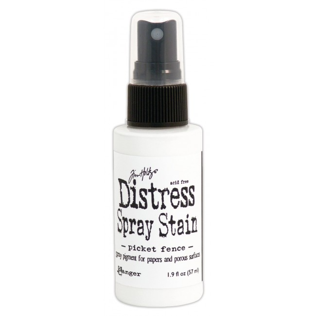 Tinta Distress Spray Stain Picket Fence