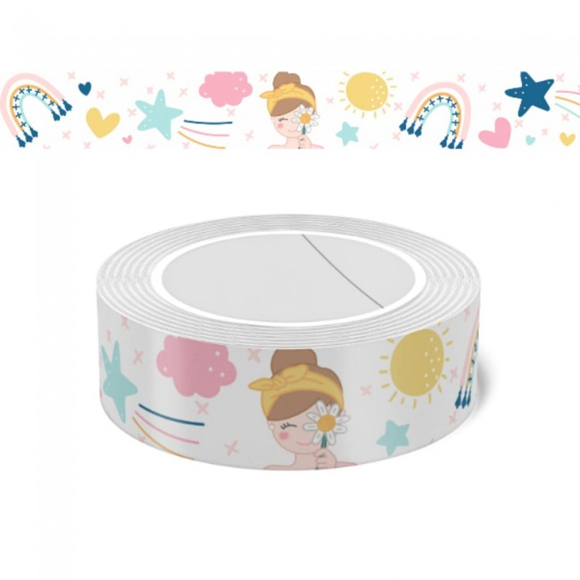Washi Tape Vitamina Arcoíris