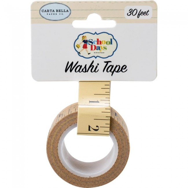 Washi Tape School Days CB Ruler