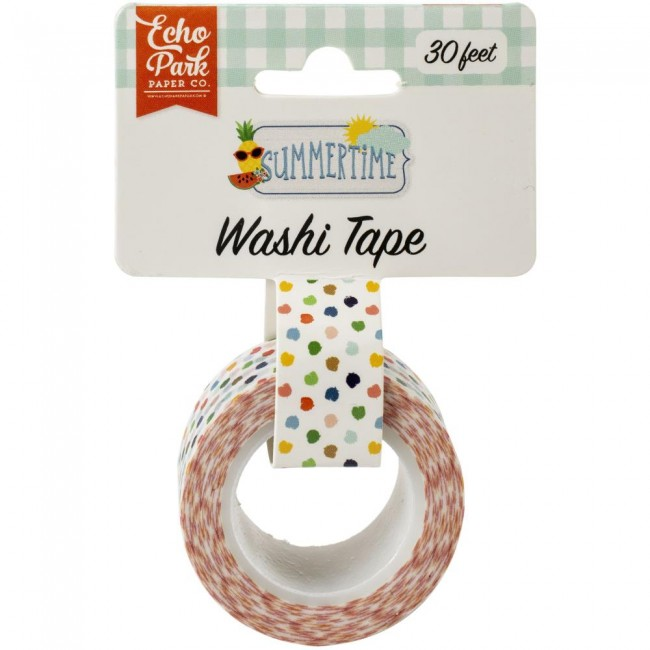 Washi Tape Summertime Summer Dot