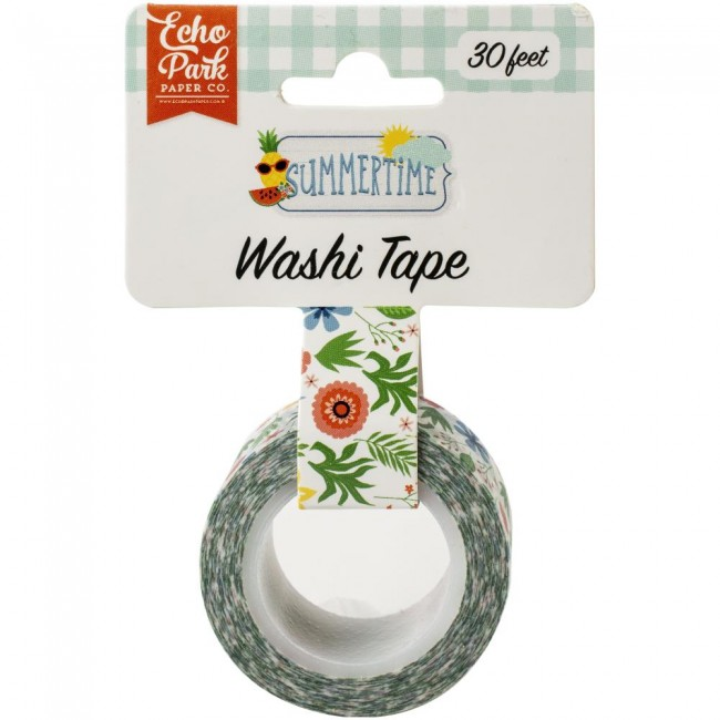 Washi Tape Summertime Summer Flowers