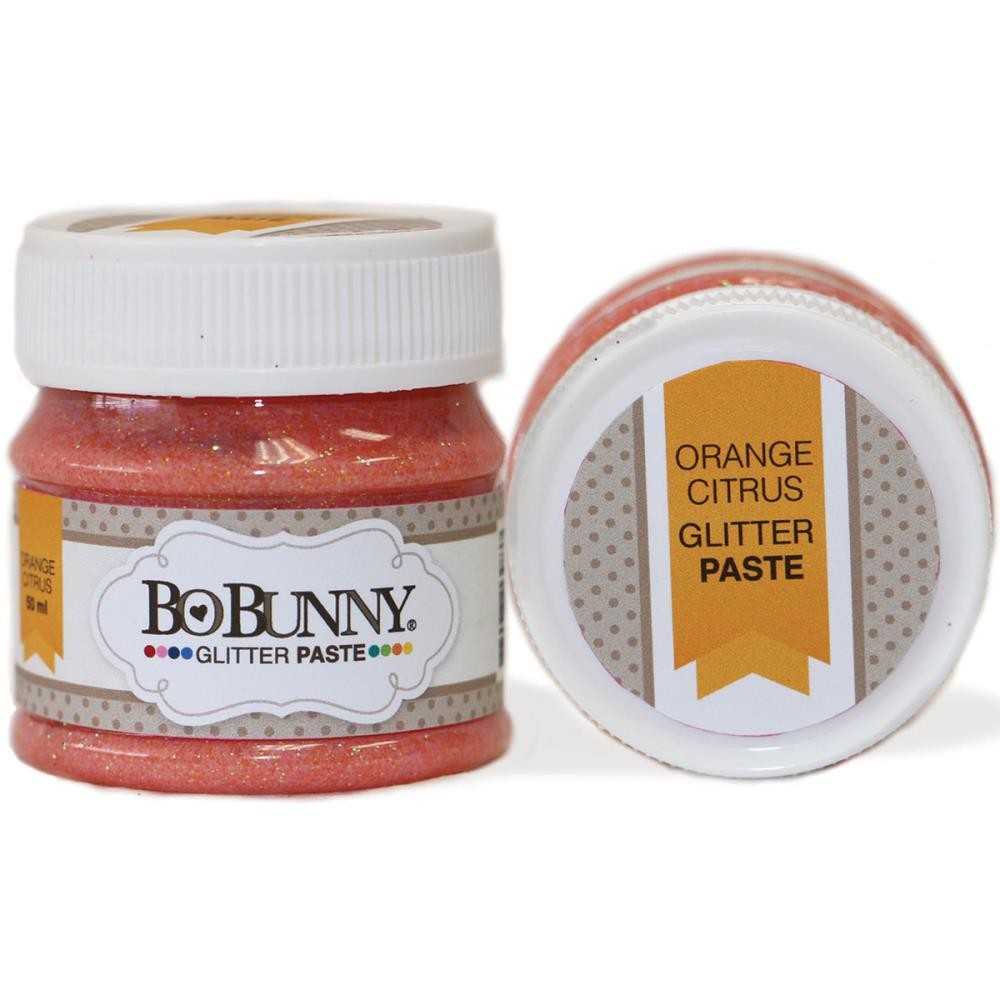 Double Dot Glitter Paste Orange Citrus