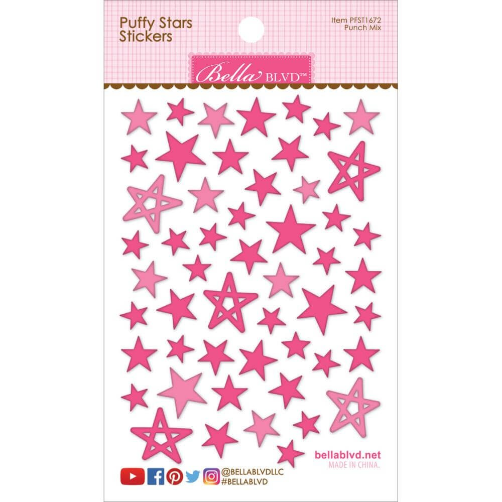 Pegatinas Puffy Stars - Punch Mix