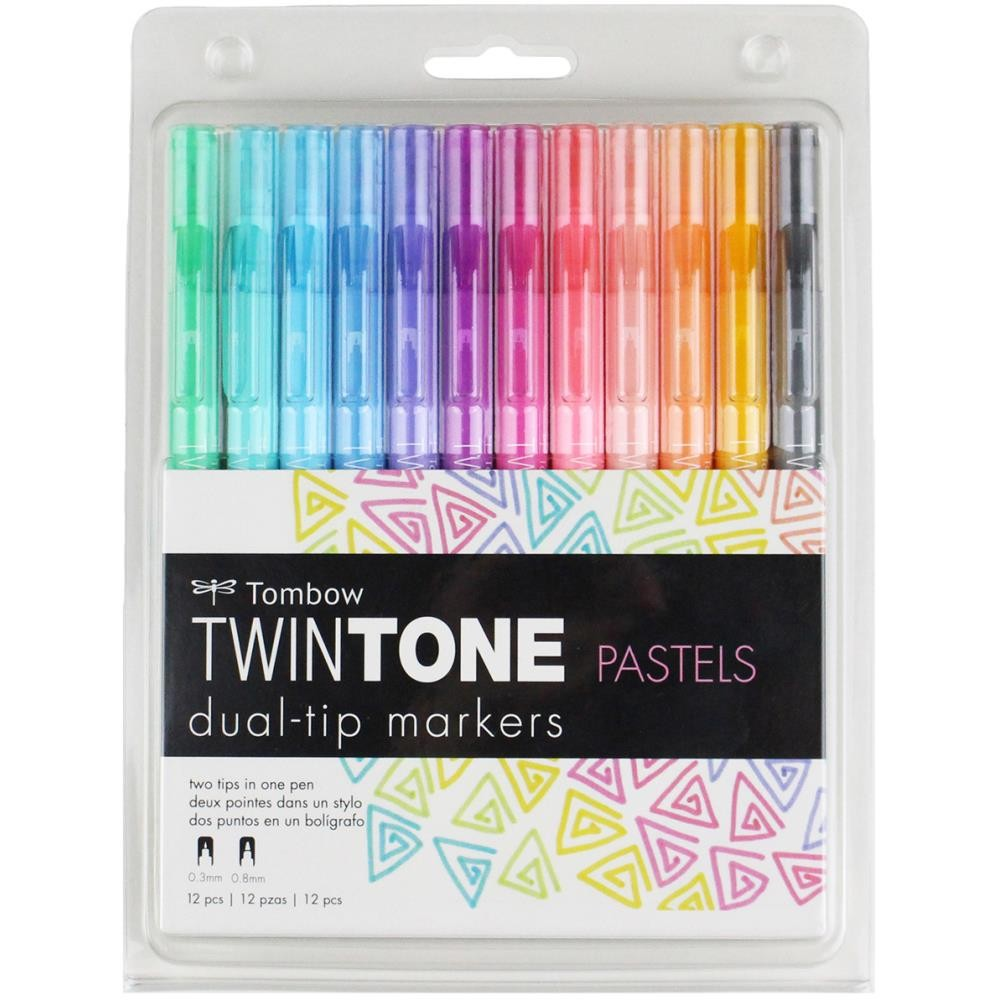 Set Rotuladores Twintone - Pastels