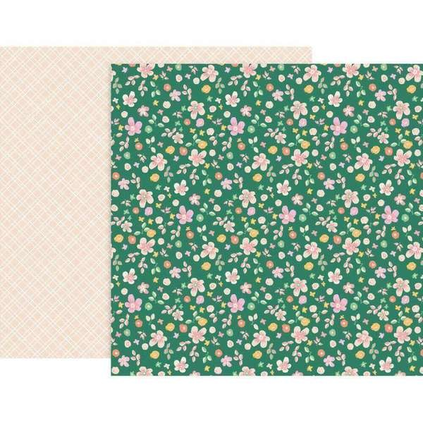 Papel Estampado Doble Cara 12x12 Whimsical #24