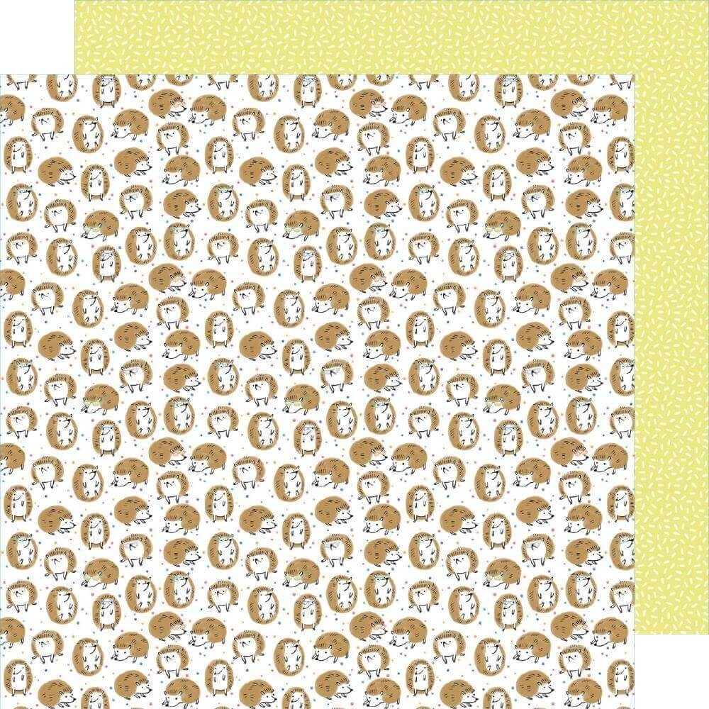 Papel Estampado Doble Cara 12x12 Stay Sweet Prickly Hug