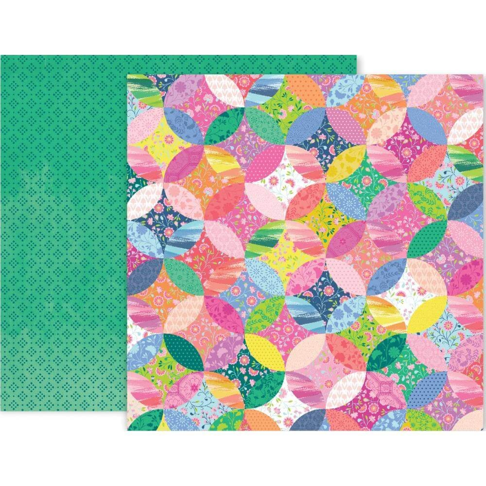 Papel Estampado Doble Cara 12x12 Horizon #12
