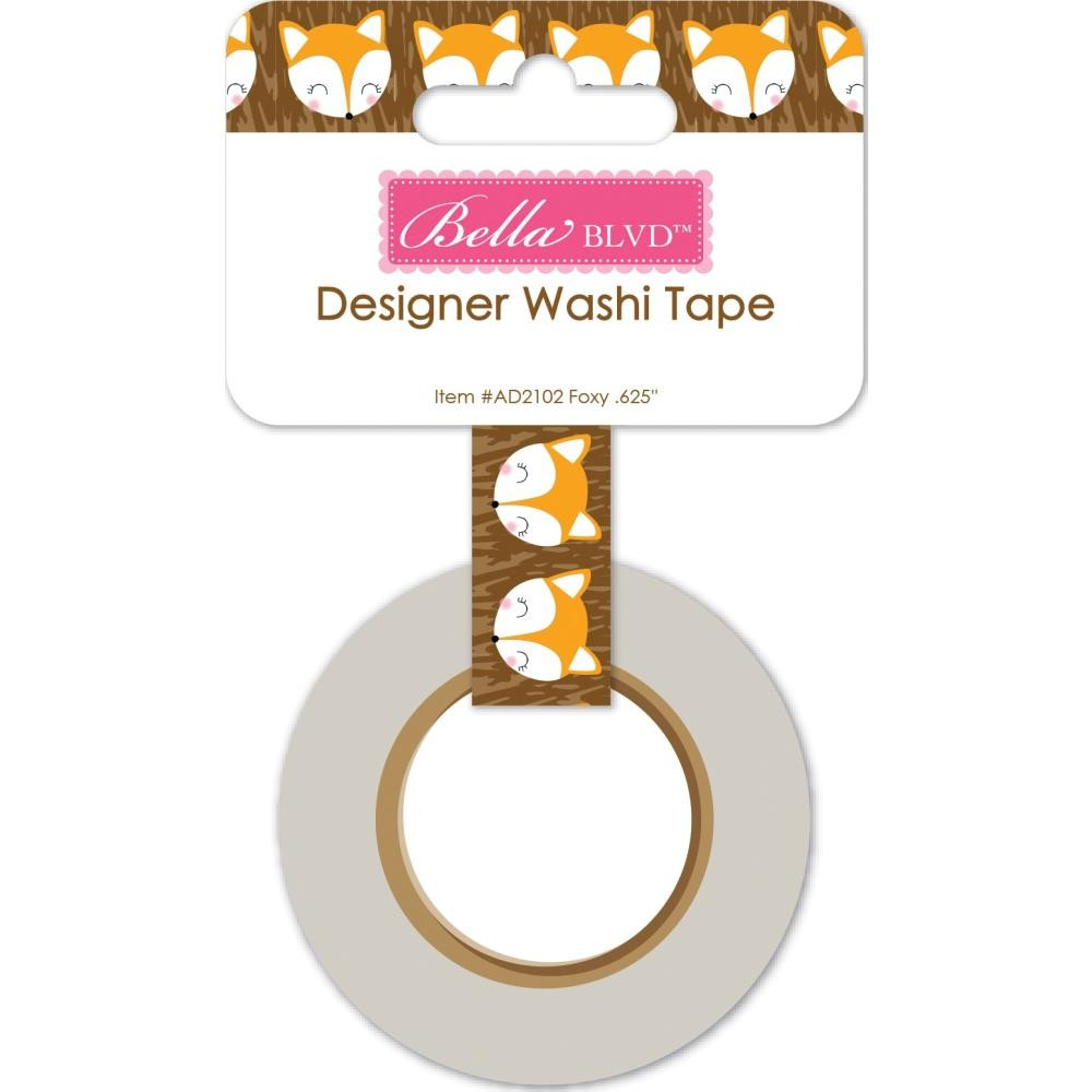 Washi Tape Let's Go On An Adventure Foxy