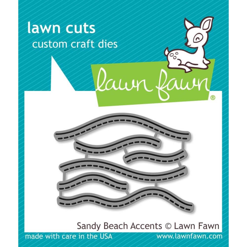 Troquel Lawn Cuts Sandy Beach Accents