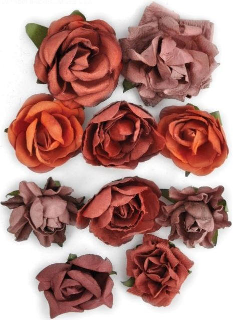 Flores de papel Blooms Ruby