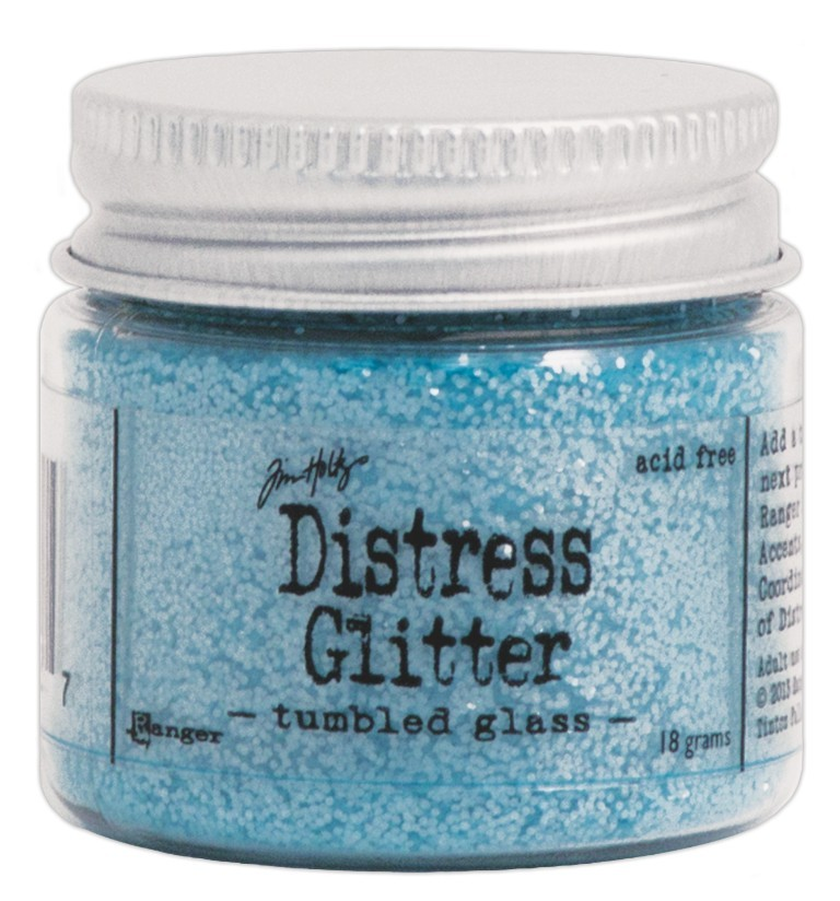 Glitter Tumbled Glass