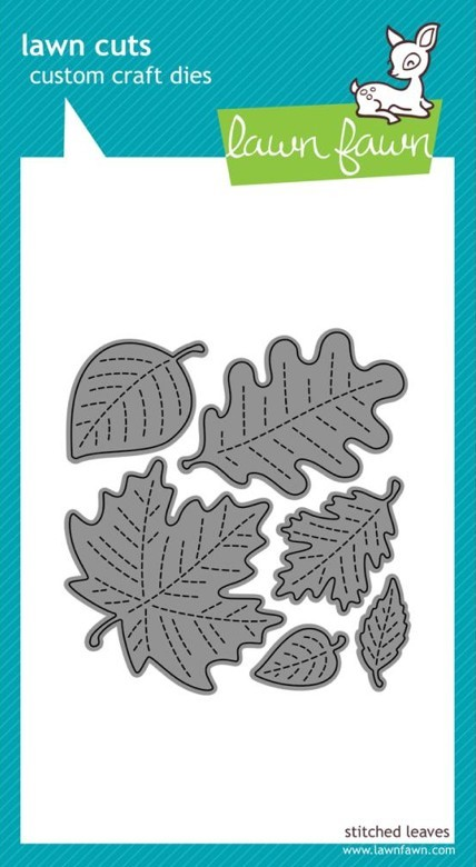 Troquel Stitched Leaves