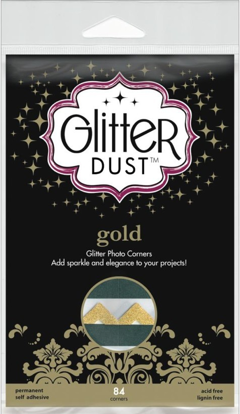 84 Esquinas fotos Glitter Dust Gold