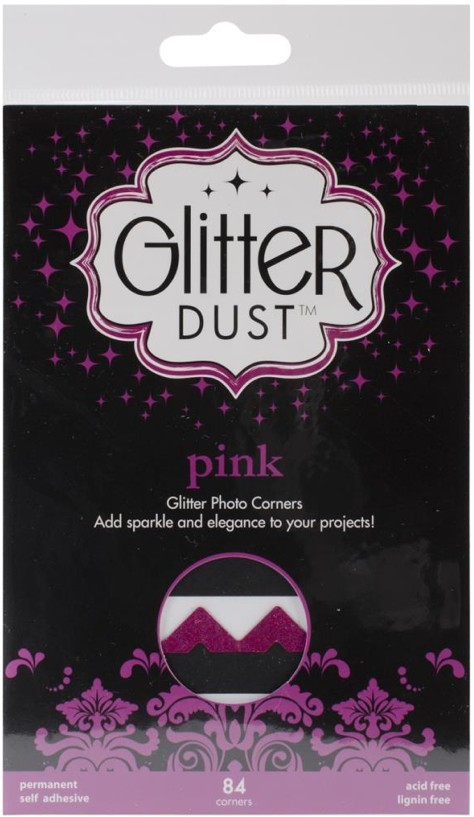 84 Esquinas fotos Glitter Dust Pink